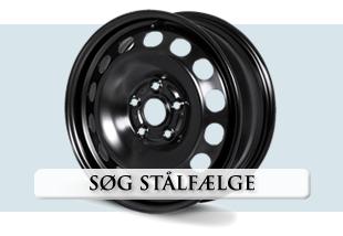 Find stålfælge i vores store udvalg og få dem leveres med dæk