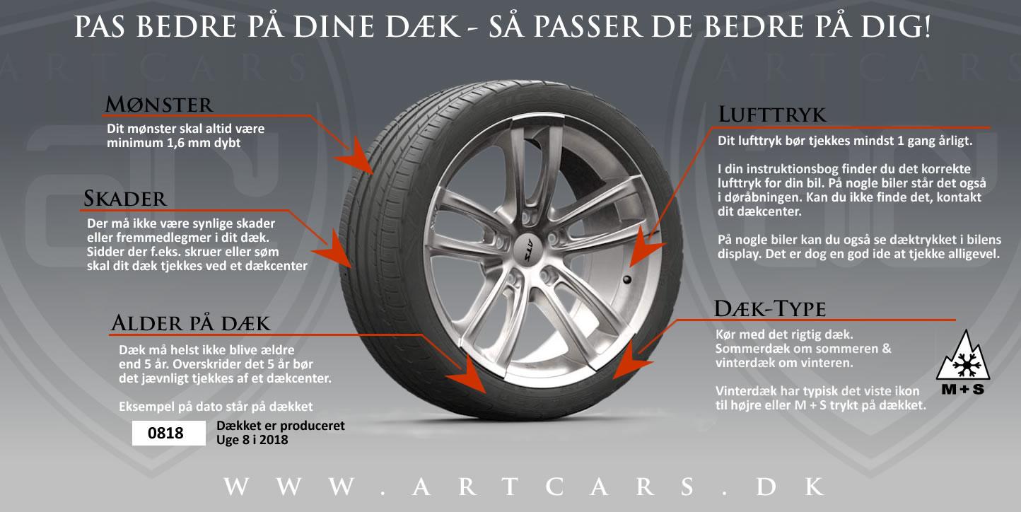 pas bedre på dine dæk - så passer de bedre på dig!