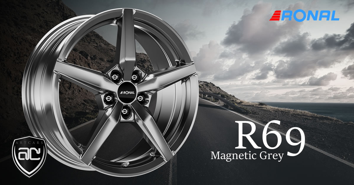 Ronal R69 Magnetic Grey